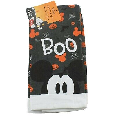 Disney Mickey Mouse Boo Halloween Kitchen Dish Towels 2 Pack
