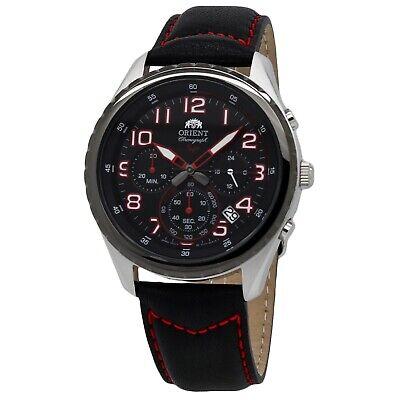Orient SP Chronograph Black Dial Men's Watch FKV01003B0