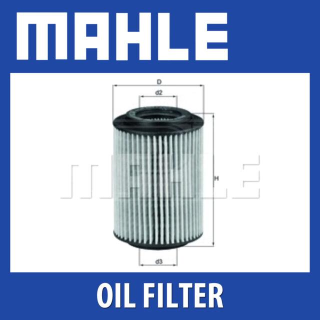 Mahle Oil Filter OX347D - Fits Honda Civic 2.2Crdi - Genuine Part