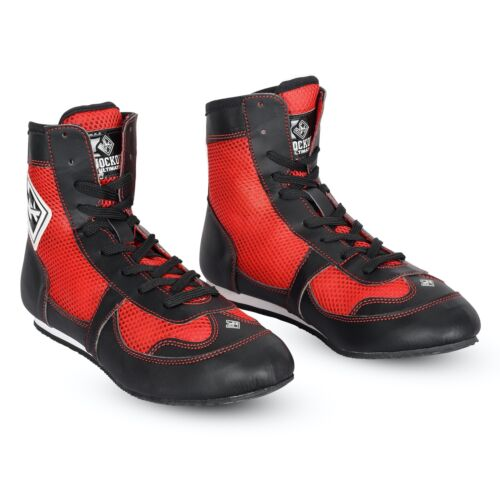 Knockout boxing Speed Elite Lightweight Mid-Length Boxing Shoes Rubber Soles UFC