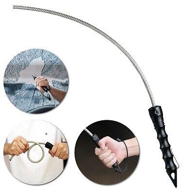 Stinger Whip: Hardened Steel Window Breaker, Car Crash Emergency Escape Tool