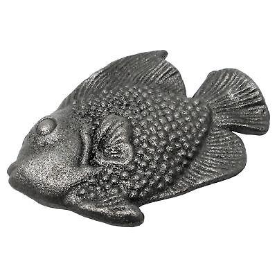Fisch Gußeisen Gartendeko Zaundekoration Tore Vintage Look Shabby Chic Teich