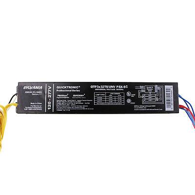 Sylvania QTP2x26CF//UNV-DM Compact Fluorescent Ballast 120//277V CFL T4 2-Lamp