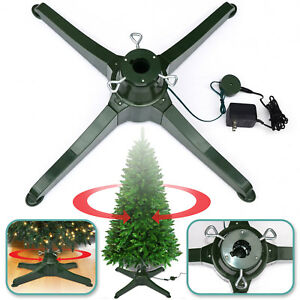 Rotating Tree Stand For Artificial Christmas Tree Revolving Tree Steel Base  Only