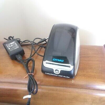 Dymo Labelwriter 450 Turbo Thermal Label Printer With Power Usb Cable Labels