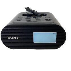 Sony Genuine Alarm Clock Radio AM/FM With Apple iPod & iPhone Dock  ICF-C05iP A4