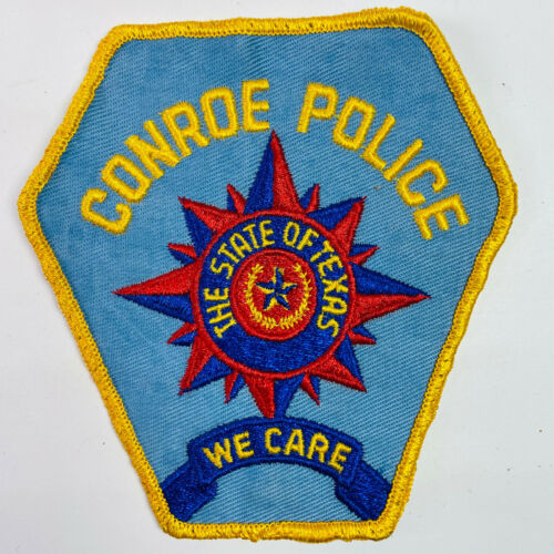 Conroe Police Montgomery County Texas TX Patch A6