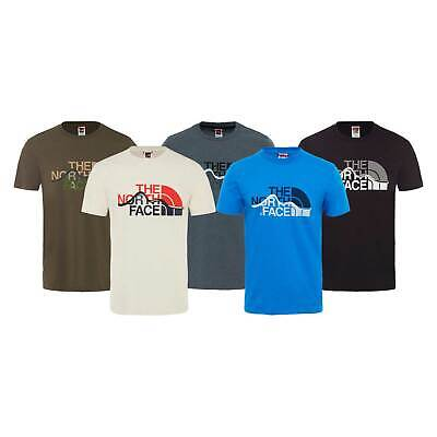 The North Face Mens Mount Line Short Sleeve T-Shirt RRP £25 North Face Mens Mount