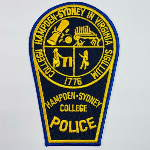 Hampden Sydney College Police Virginia VA Patch (A1)