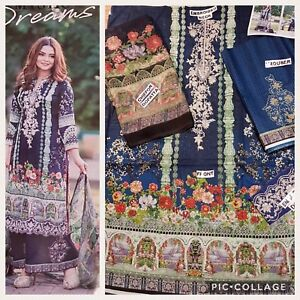 Pakistani Indian Collection of Dresses dopatta and kussay