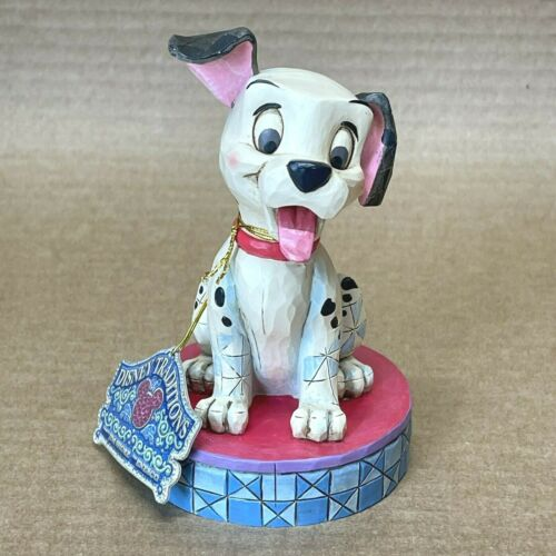 Disney Showcase Happy Go Lucky 101 Dalmatians Figure Enesco Jim Shore 4009254