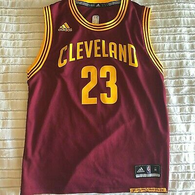 14-16 NBA Kids /& Youth Boys Ultra Short Sleeve Tee Cleveland Cavaliers-Burgundy-L