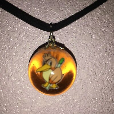 Farfetch'd Pokémon Marble Necklace , used for sale  Shipping to South Africa