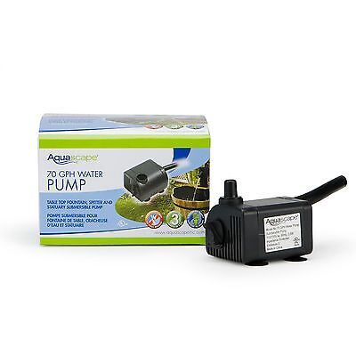 - AQUASCAPE #91023 STATUARY and FOUNTAIN PUMP 70 GPH
