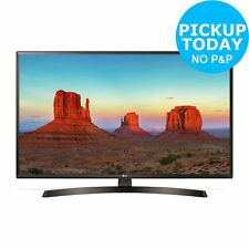 LG 43UK6400PLF 43 Inch 4K Ultra HD HDR Smart WiFi LED TV - Black.