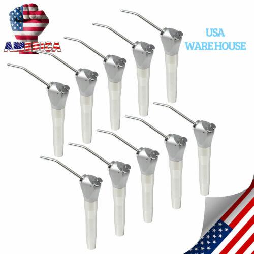 10 Sets Dental Air Water Spray 3 Way Syringe Handpiece w/ No