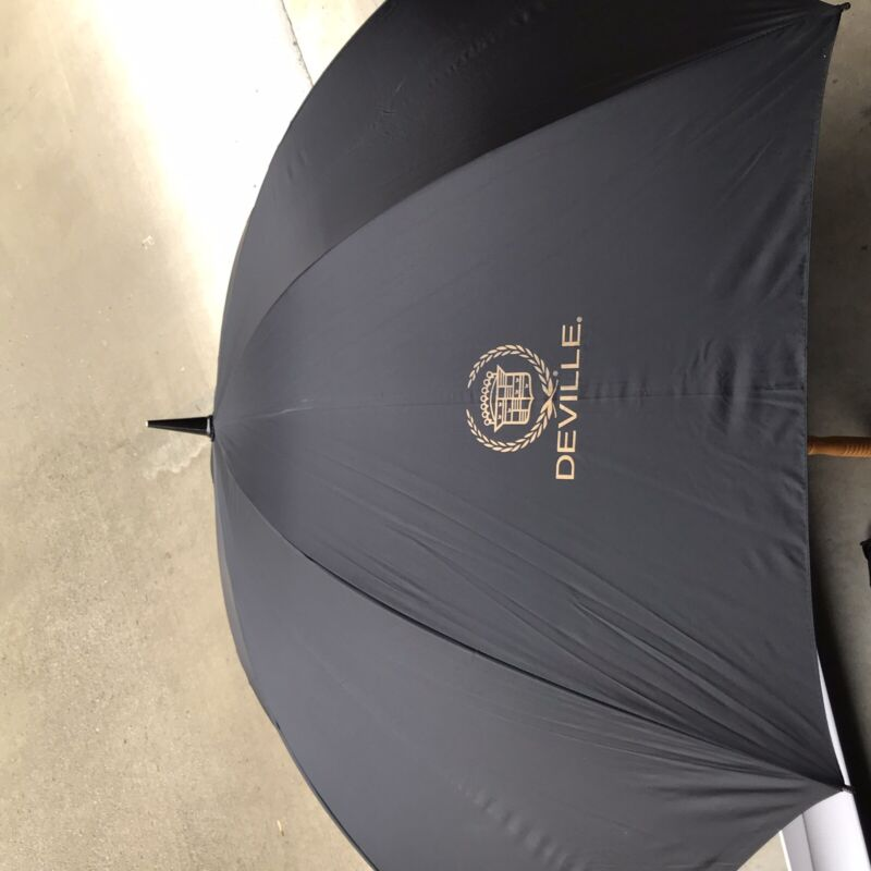 Vintage Cadillac DeVille Large Umbrella New Condition from 2003