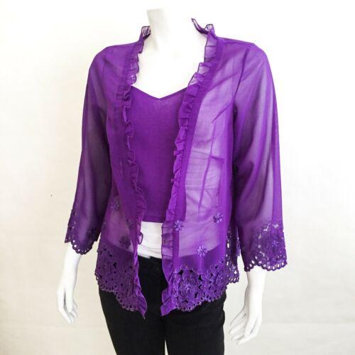Vintage Purple Indonesian Malay Peranakan Women