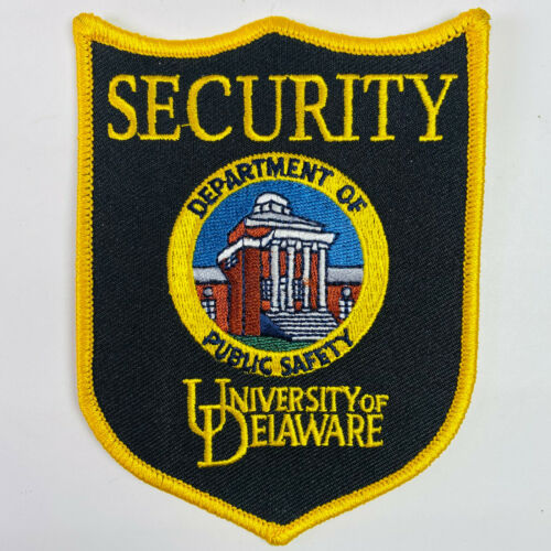 University Of Delaware Security Department Of Public Safety DE Patch
