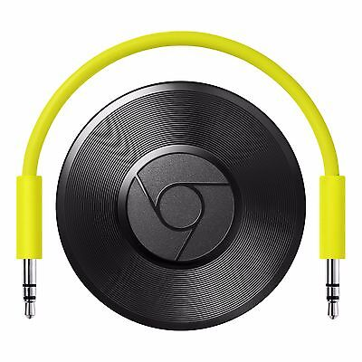 Google Chromecast Audio   Wifi Audio Streaming  Latest Model