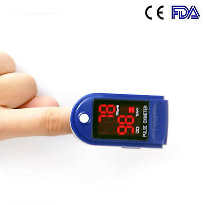Fda Oled Fingertip Pulse Oximeter Blood Oxygen Spo2 Pr Monitor Oximeter Orange