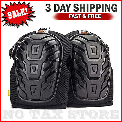 - Professional Knee Pads with Heavy Duty Foam Padding and Comfortable Gel Cushion