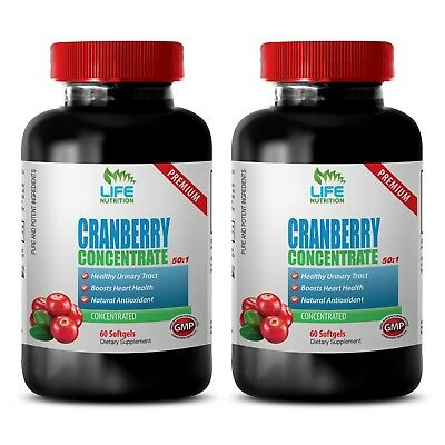 Cranberry Tablets - Cranberry Extract 50:1 272mg - Better Concentration Caps 2B