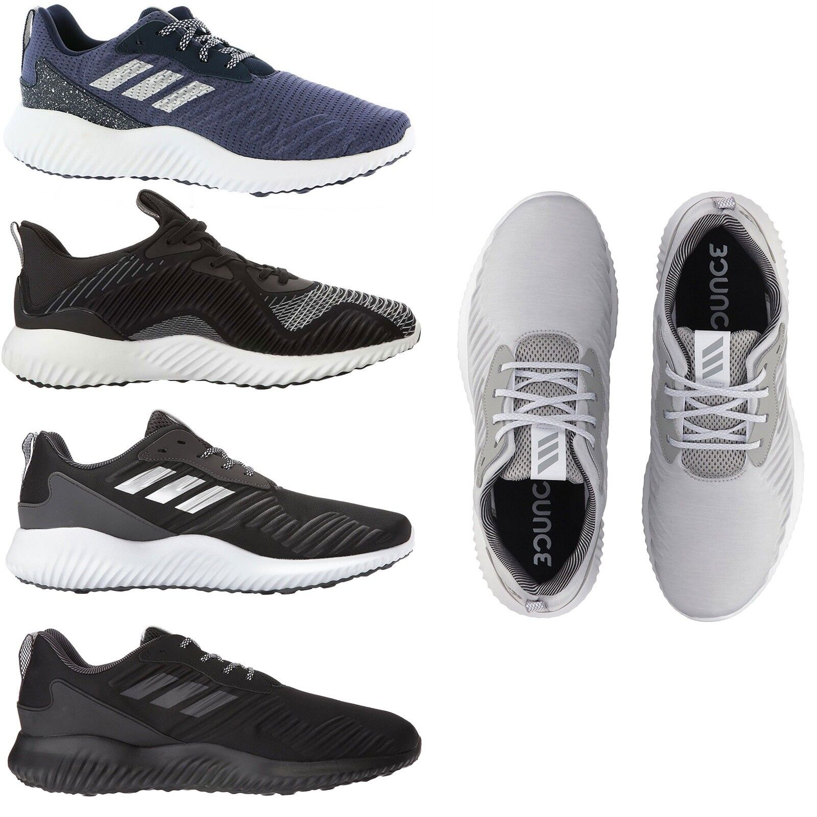 Adidas Men's Athletic Alphabounce Running Cross Training Shoes Sneakers NEW