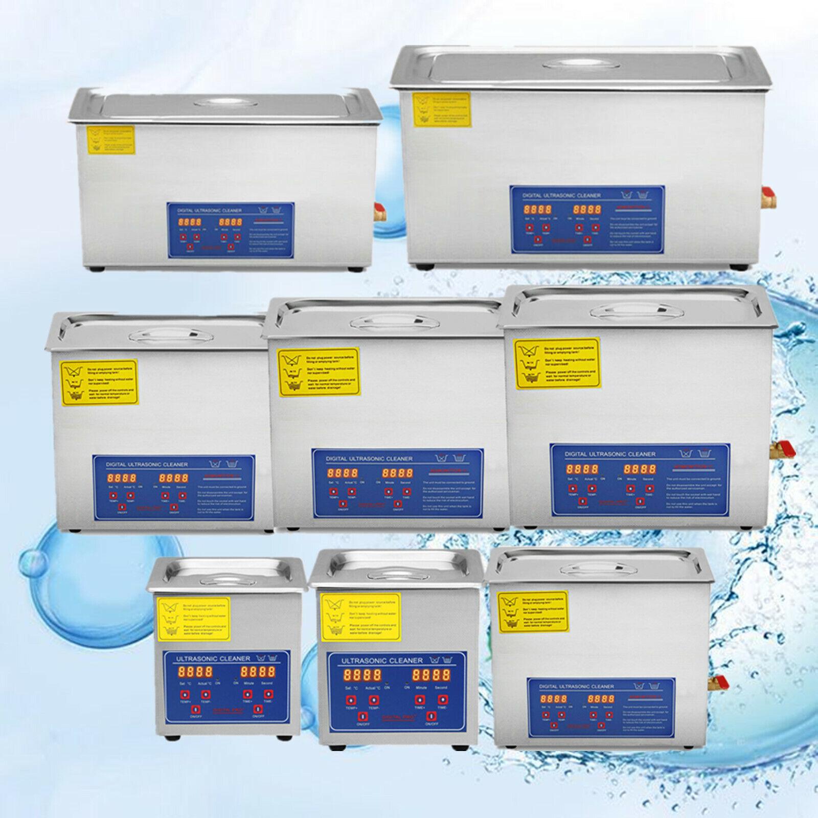 Ultrasonic Cleaners Supplies Jewelry 1.3L,2L, 3L, 6L, 10L, 1
