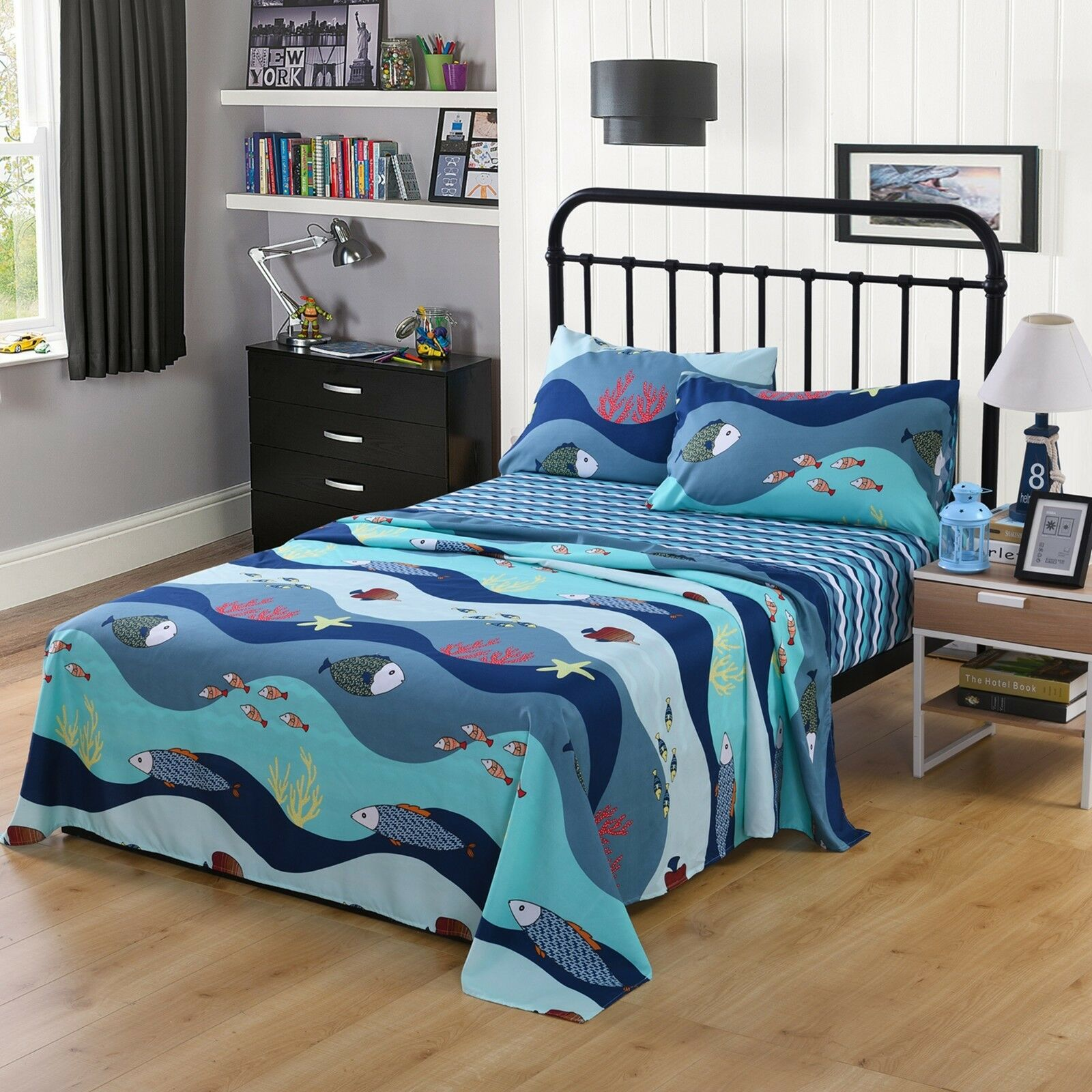 Bed Sheets for Kids Girls Boys Teens Children Beds Set, 276