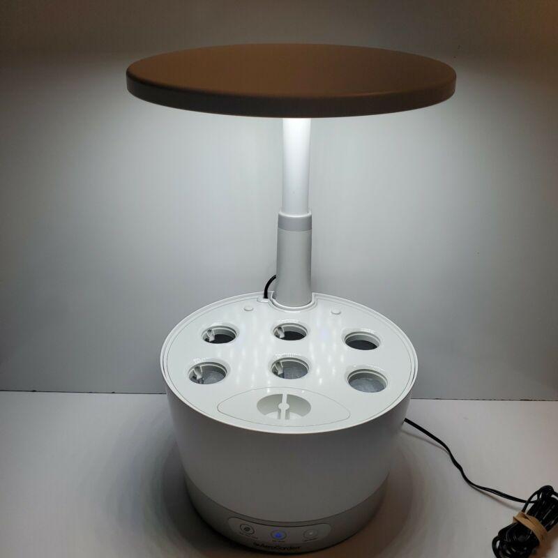 Aero Garden Harvest 360 6-Pod Indoor Hydroponics Garden White