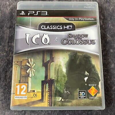 ICO & Shadow Of The Colossus Classics HD PS3 PlayStation 3 Game Complete Sony