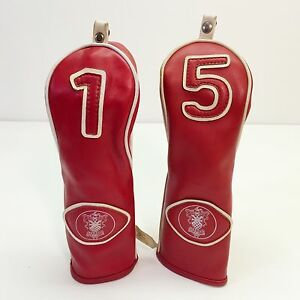 Vintage Golf Club Covers