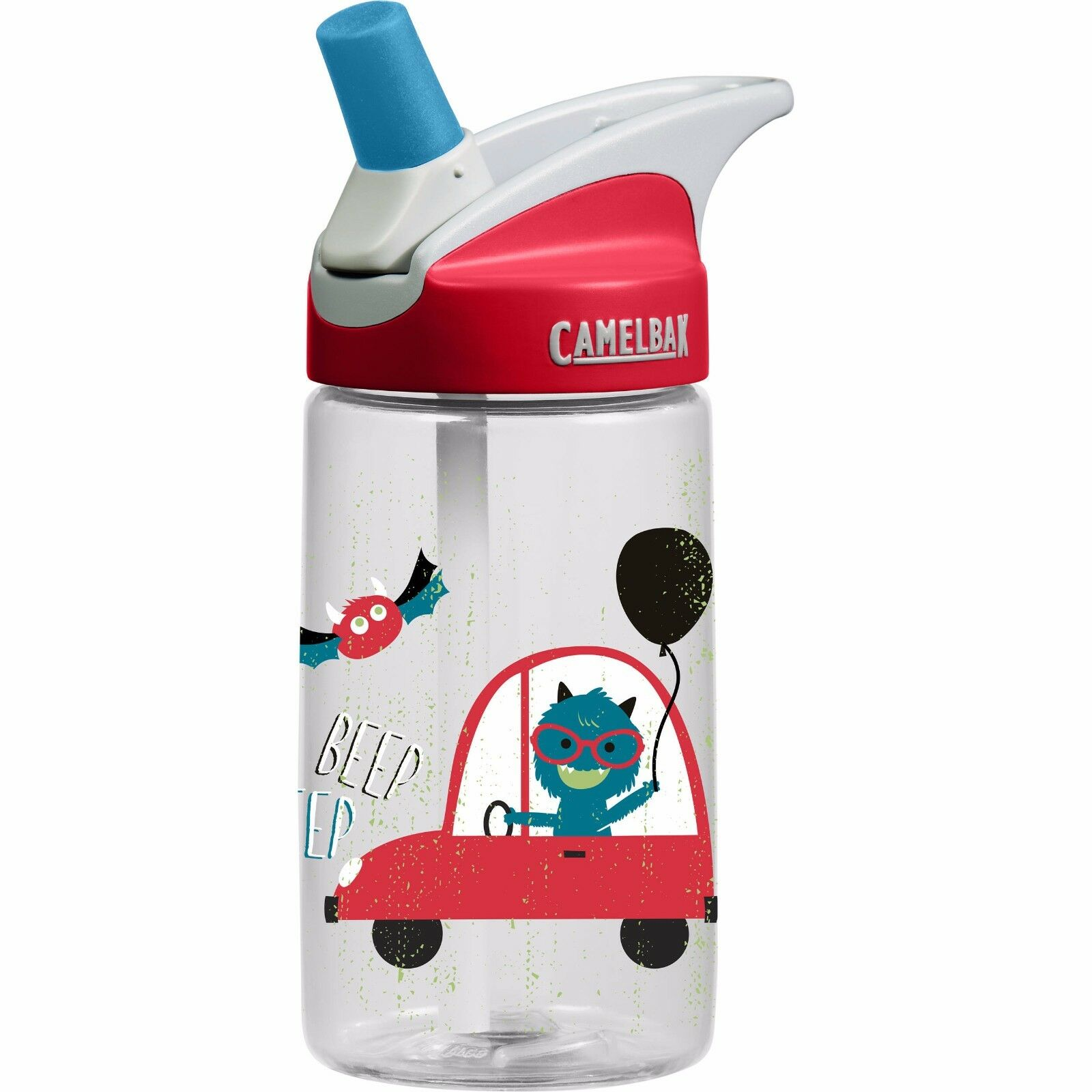CamelBak Eddy 0.4 Liter Kids Water Bottle - Rad Monster