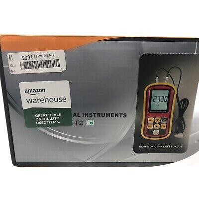 Ultrasonic Thickness Meter Tester Gauge Velocity 1.2225mm Metal Gm-100 Digital