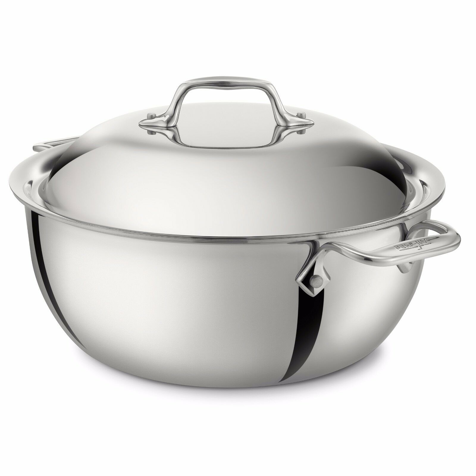 All-Clad Stainless Steel 5.5 Qt Dutch Oven
