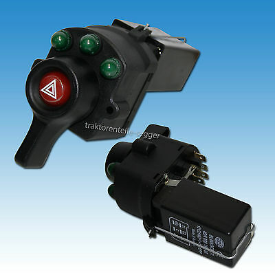 Hella Blinkerschalter - Warnblinker Kombination Warnblinkschalter Traktor