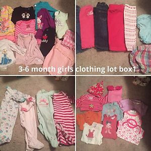 3 - 6 month girls clothing lot