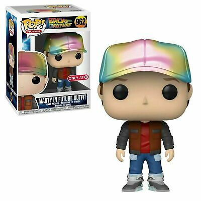 Funko POP Movies Back To The Future - Marty In Future Outfit MT Target Exclu - $25.95