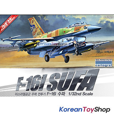 Academy F-16I SUFA Israeli Air Force in 1:32 Academy 12105