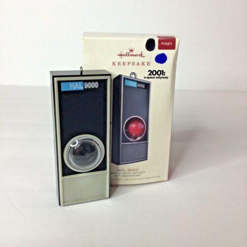 2018 Hallmark 2001: A Space Odyssey HAL 9000 50th Anniversary Magic Ornament