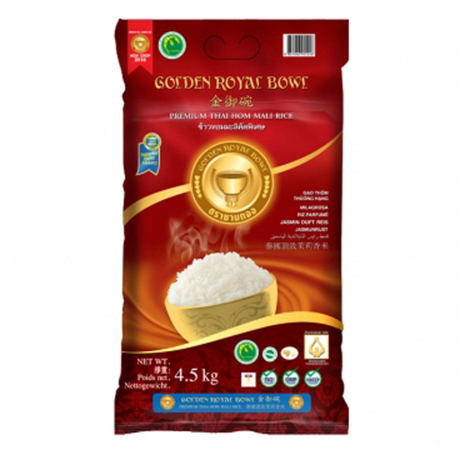 4,5 Kg Royal Bowl Longkorn Jasminreis Duftreis mehrfach ausgezeichnet AAAAA