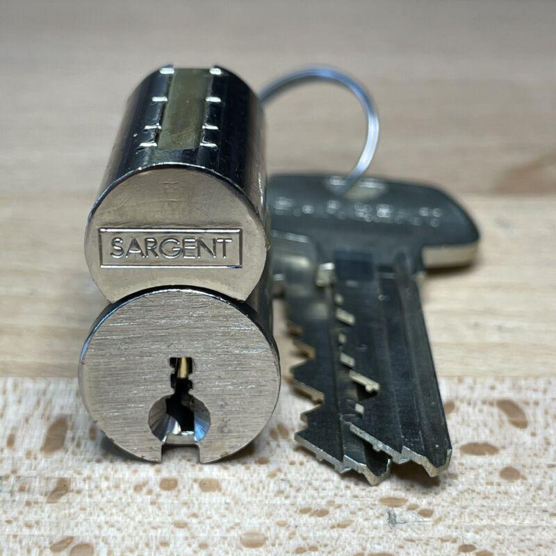 SARGENT 6300 6-Pin LFIC (HB Keyway) w/ Operating And Control Keys - Locksport