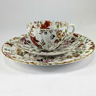 Porcelain coffee tea cup hand painted Fenton Radfords England