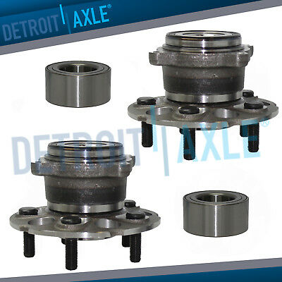 Front Wheel Bearing Rear Hub 2007 2008 2009 2010 2011 Honda CR-V Acura RDX AWD