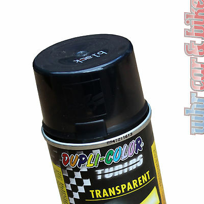 Dupli-Color Acryl Spray 150ml Tönungsspray schwarz transparent Transparentlack