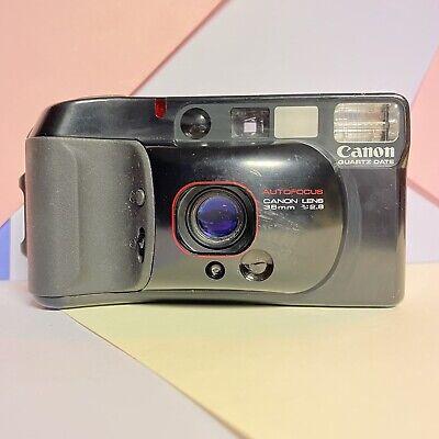 Canon SureShot Supreme Af35m 3 35mm Film Camera 38mm f/2.8 lens. Tested Working