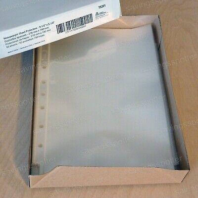 Avery Mini Diamond Clear Heavyweight Sheet Protectors 5.5 X 8.5 Box Of 50
