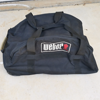 Carry bag for Weber Q barbecue with wheels