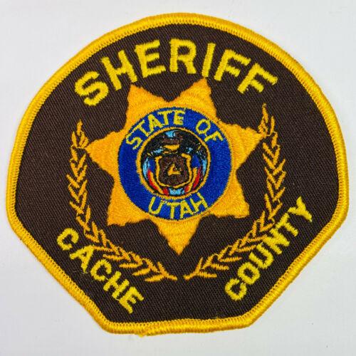 Cache County Sheriff Utah UT Patch